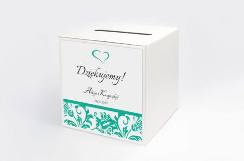 Personalizowane pudełko na koperty - Ornament wzór 8