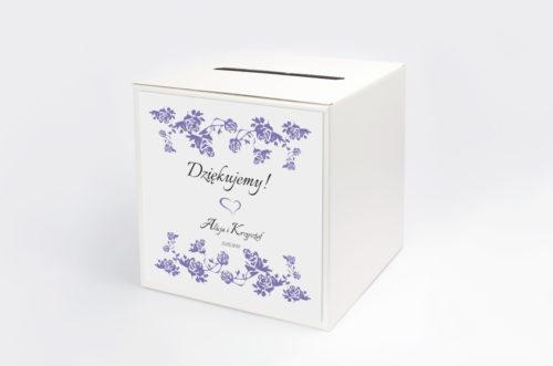Personalizowane pudełko na koperty - Ornament wzór 6