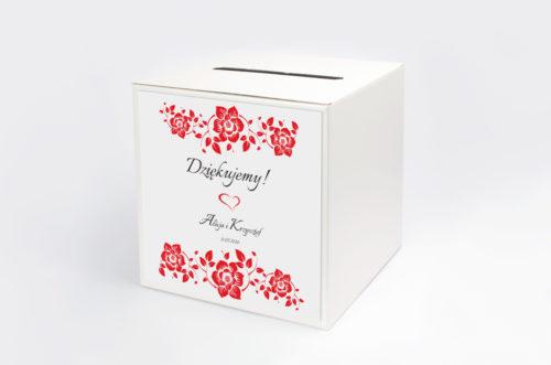 Personalizowane pudełko na koperty - Ornament wzór 2