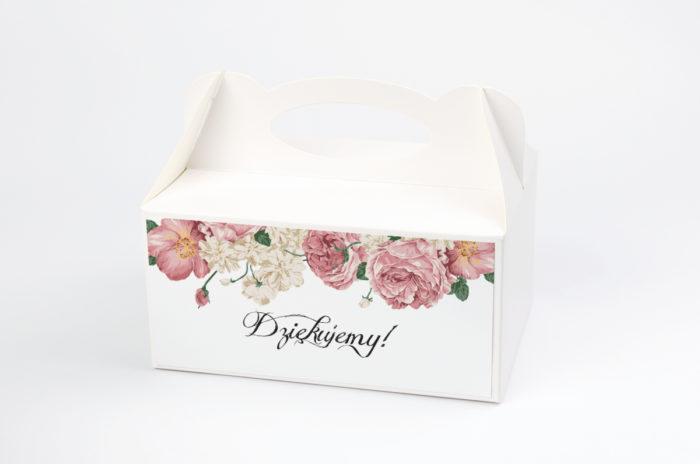 Ozdobne pudełko na ciasto - Boho wzór 3