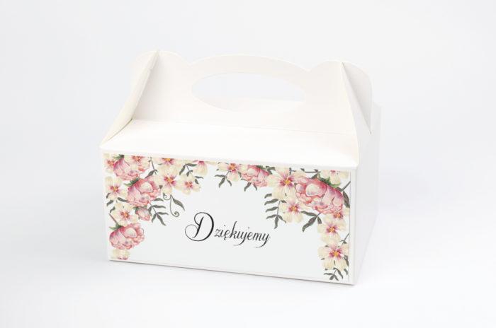 Ozdobne pudełko na ciasto - Boho wzór 8