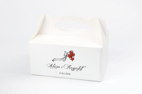 Ozdobne pudełko na ciasto - Lolki