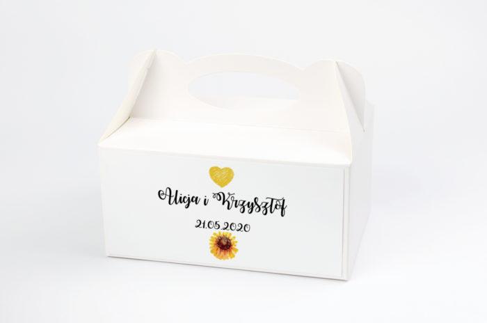 ozdobne-pudelko-na-ciasto-kwiaty-sloneczniki-papier-satynowany-pudelko-