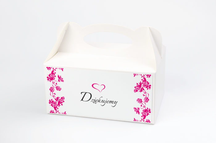 Ozdobne pudełko na ciasto - Ornament wzór 1