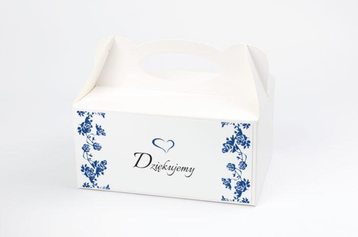 Ozdobne pudełko na ciasto - Ornament wzór 3