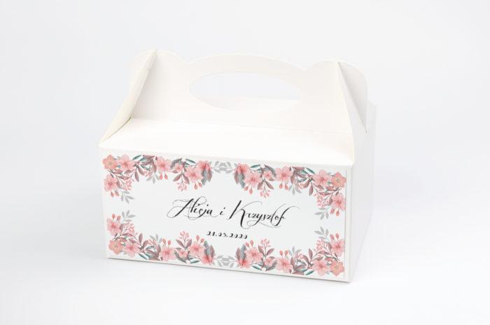 ozdobne-pudelko-na-ciasto-wianki-pudrowe-kwiaty-papier-satynowany