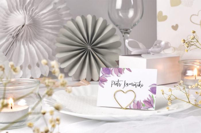 winietka ślubna z tulipanami