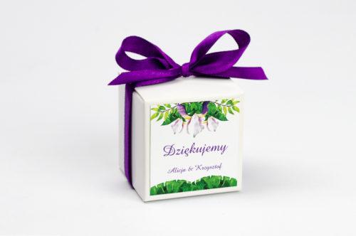 pudełko na krówki krokusy