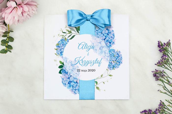 nowoczesne-zaproszenie-slubne-wianki-z-kokarda-niebieskie-hortensje-papier-matowy-kokarda-na-kleju--koperta-k4-szara