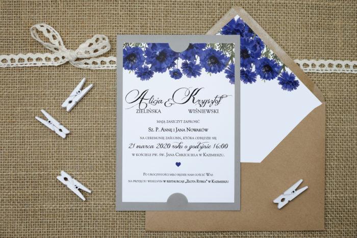 zaproszenie ślubne boho