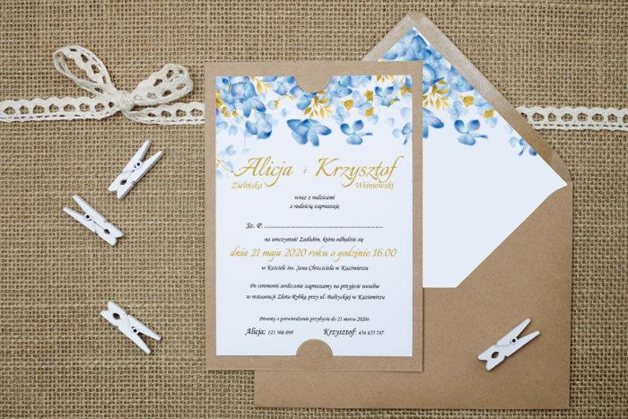zaproszenie-slubne-boho-hortensje-i-zlote-liscie-podkladki-ecob6-papier-satynowany-koperta-bez-koperty
