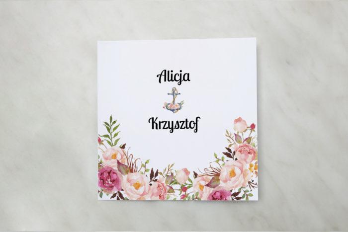 zaproszenie-slubne-kwadratowe-kwiaty-z-kotwica-papier-matowy-koperta-bez-koperty