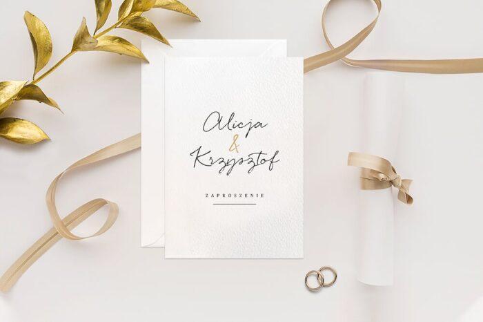 zaproszenie-slubne-minimalistyczne-ze-zlotem-wzor-1-papier-matowy-350g