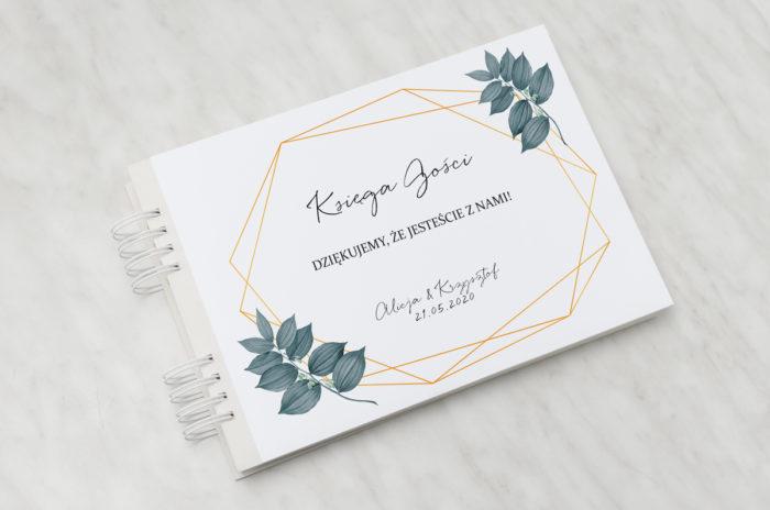 ksiega-gosci-slubnych-botaniczne-geometryczne-liscie-papier-satynowany-dodatki-ksiega-gosci