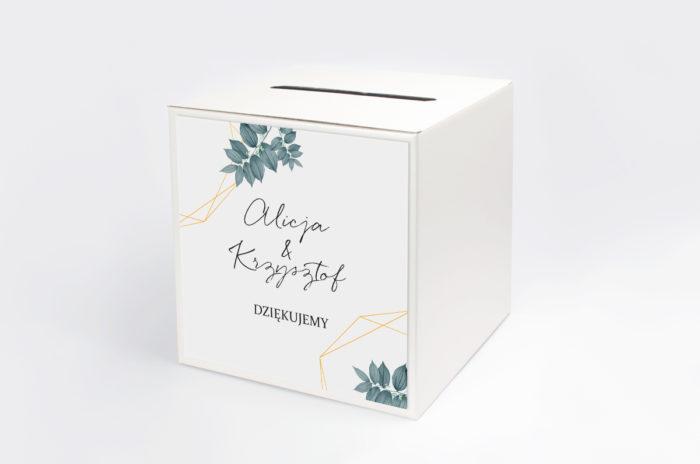 personalizowane-pudelko-na-koperty-botaniczne-geometryczne-liscie-papier-satynowany-pudelko-