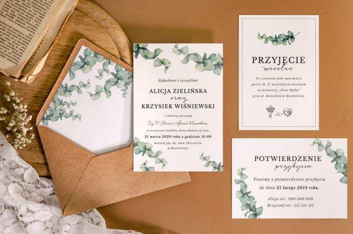 zaproszenie-slubne-jednokartkowe-recyklingowe-galazki-eukaliptusa-papier-matowy-350g-koperta-b6-szara-bez-wklejki