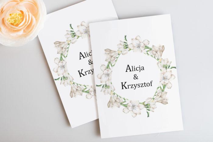 zaproszenie-slubne-botaniczne-biale-frezje-papier-satynowany