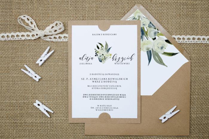 zaproszenie-slubne-boho-snieznobiale-roze-podkladki-szarab6-papier-satynowany-koperta-bez-koperty