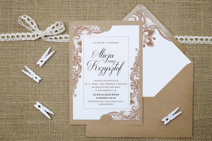 zaproszenie-slubne-boho-bezowa-koronka-podkladki-szarab6-papier-satynowany-koperta-bez-koperty