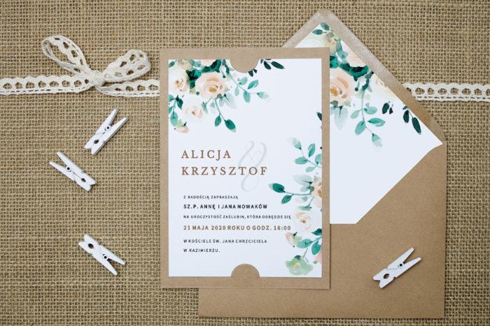 zaproszenie-slubne-boho-bezowe-bukiety-podkladki-szarab6-papier-satynowany-koperta-bez-koperty