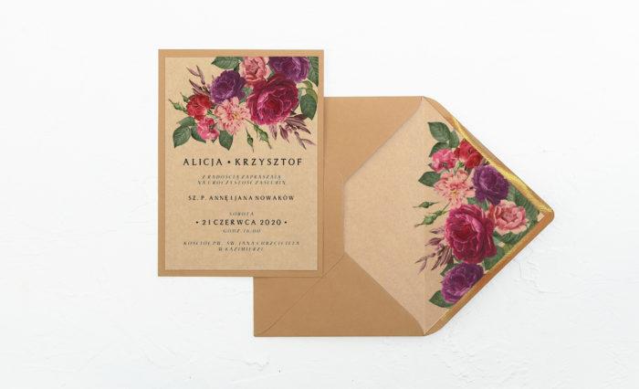 Bordowe-kwiaty-zaproszenie-eko