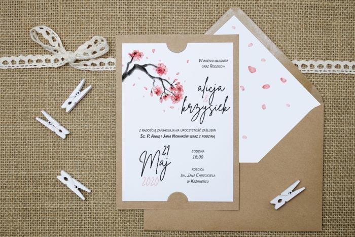 zaproszenie-slubne-boho-japonska-wisnia-podkladki-szarab6-papier-satynowany-koperta-bez-koperty