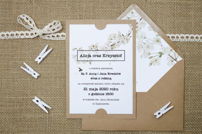 zaproszenie-slubne-boho-kwiat-wisni-podkladki-szarab6-papier-satynowany-koperta-bez-koperty