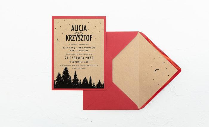 Las-zaproszenie-czerwone