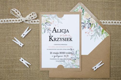 Róż-i-Fiolet-Zaproszenie-z-kopertą