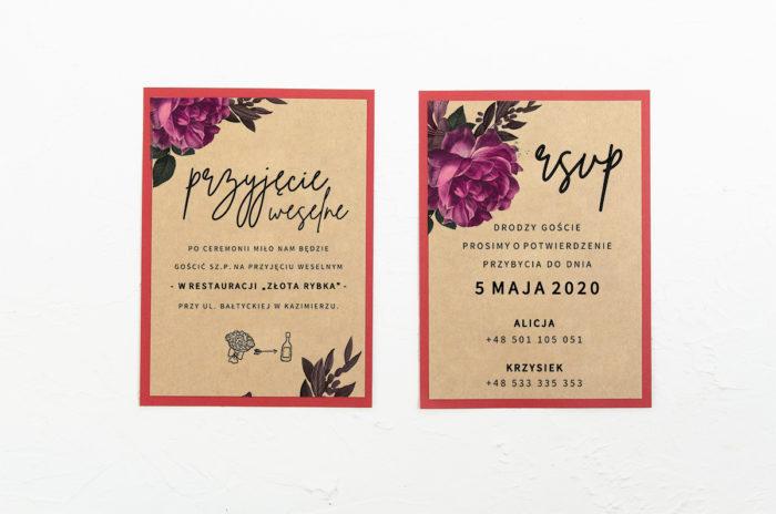 Róża-stulistna-karteczki-czerwone