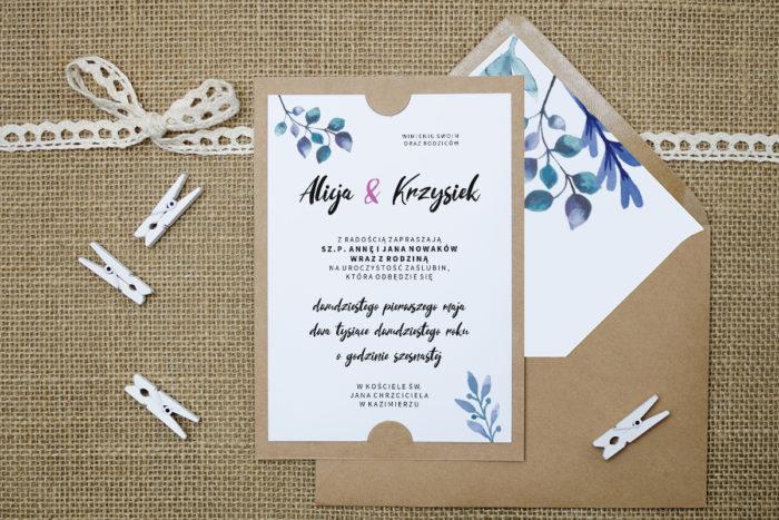 zaproszenie-slubne-boho-rozowy-akcent-podkladki-szarab6-papier-satynowany-koperta-bez-koperty
