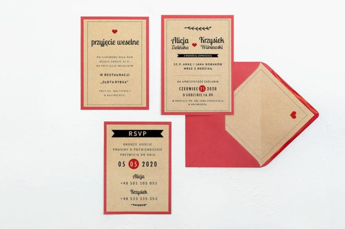 zaproszenie-slubne-boho-czerwoneeco-rustykalne-podkladki-ecob6-papier-eco-koperta-b6-szara-bez-wklejki