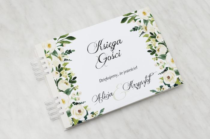 ksiega-gosci-slubnych-do-zaproszen-z-kokarda-biale-kwiaty-papier-matowy-dodatki-ksiega-gosci