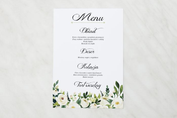 menu-weselne-pasujace-do-zaproszen-eleganckich-z-kokarda-biale-kwiaty-papier-matowy