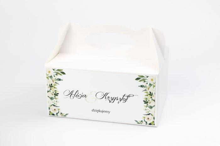 ozdobne-pudelko-na-ciasto-do-zaproszen-eleganckich-z-kokarda-biale-kwiaty-papier-satynowany