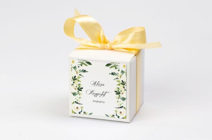 pudeleczko-z-personalizacja-do-zaproszen-eleganckich-z-kokarda-biale-kwiaty-kokardka--krowki-bez-krowek-papier-