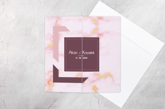 eleganckie-zaproszenie-slubne-z-nawami-kontrastowe-wzor-9-papier-matowy-koperta-bez-koperty