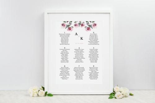 akwarelowe-roze-tablica