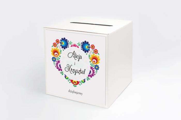 personalizowane-pudelko-na-koperty-folk-papier-satynowany-pudelko-na-koperty