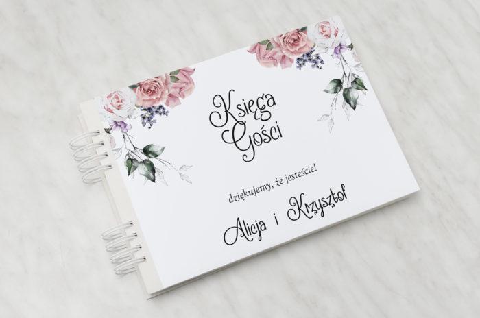 ksiega-gosci-slubnych-kwiaty-pastelove-w-rozu-papier-matowy-dodatki-ksiega-gosci
