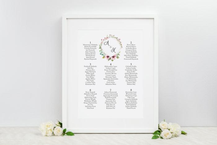 plan-stolow-weselnych-pastelowe-kwiaty-dodatki-ramka-papier-ecruefakturowany