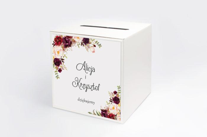 personalizowane-pudelko-na-koperty-z-bordowym-akcentem-papier-satynowany-pudelko-