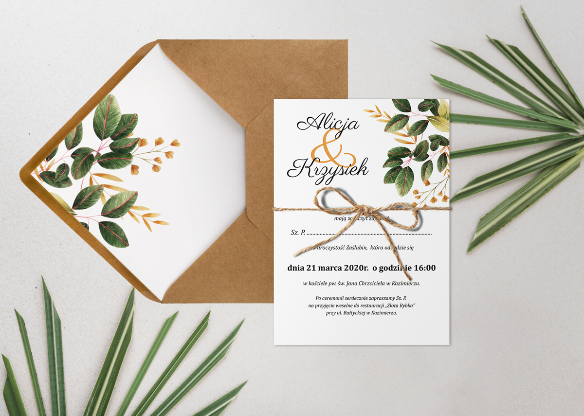 zaproszenie-slubne-botaniczne-jednokartkowe-wzor-10-papier-matowy-350g-dodatki-szn_jutowy-koperta-bez-koperty