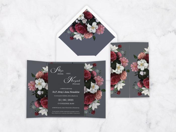 zaproszenie-slubne-kwiatowe-nawy-wzor-11-papier-satynowany-koperta-bez-koperty