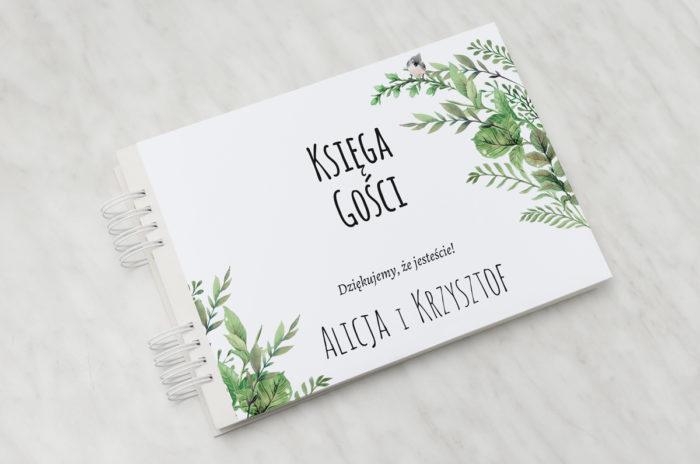 ksiega-gosci-slubnych-do-zaproszen-botaniczne-z-ptaszkiem-papier-satynowany-dodatki-ksiega-gosci