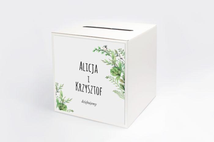 personalizowane-pudelko-na-koperty-botaniczne-z-ptaszkiem-papier-satynowany