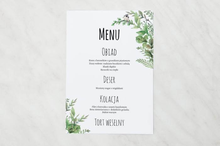 menu-weselne-pasujace-do-zaproszen-botaniczne-z-ptaszkiem-papier-matowy