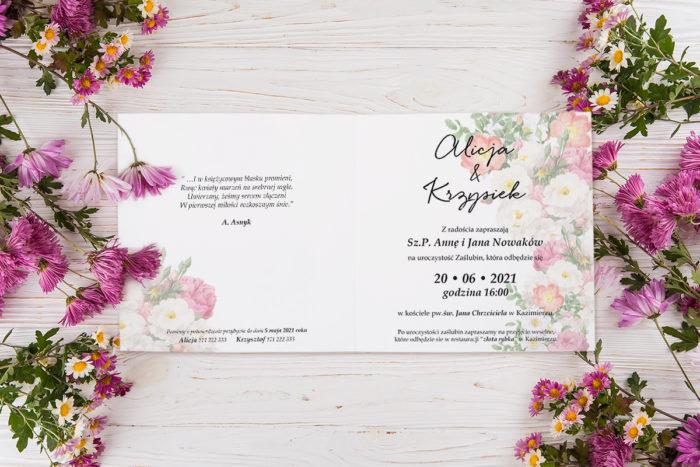 zaproszenie-slubne-K4-Eleganckie-kwiaty-wzor-20-srodek