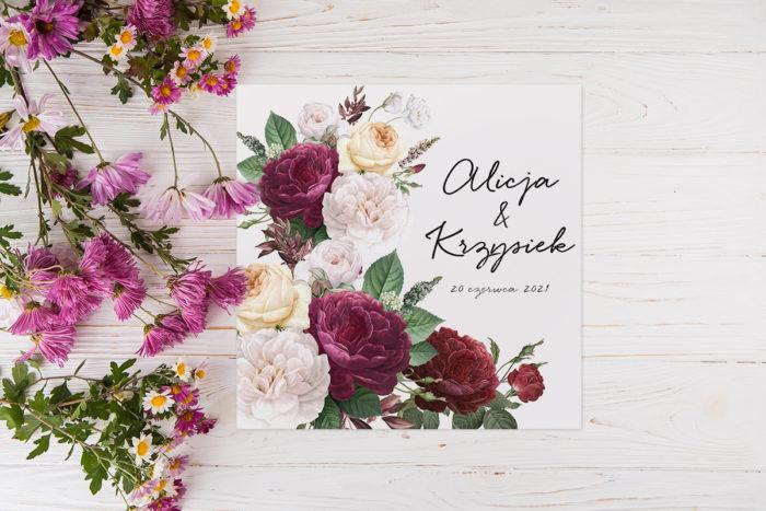 zaproszenie-slubne-eleganckie-kwiaty-wzor-21-papier-matowy-koperta-bez-koperty