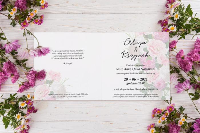 zaproszenie-slubne-K4-Eleganckie-kwiaty-wzor-22-srodek